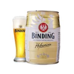 德国进口 冰顶白啤酒5L