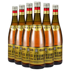 张裕干红金奖白兰地38度750ml*6瓶