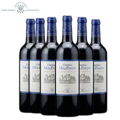法国原瓶进口红酒 拉菲罗斯柴尔德家族 马龙古堡波尔多AOC干红葡萄酒红酒整箱750ml*6