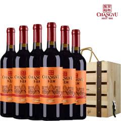 张裕红酒印象老门头赤霞珠干红葡萄酒750ml整箱装