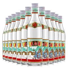 52度太白酒(优)纪复古版凤香型口粮白酒500ml*12瓶 整箱