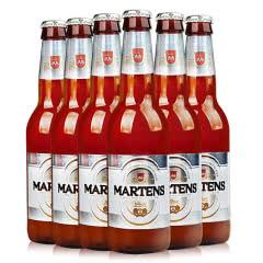 比利时原装进口麦蒂斯白啤酒 果味啤酒330ml*6瓶装