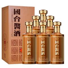53° 贵州国台酒 国台酱酒酱香型白酒500ml*6