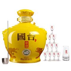 53°贵州国台酒业公司 国台国礼五斤精装版 酱香型白酒2.5L