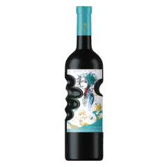 14.5度法国原酒进口红酒拿尊蓝色妖姬手握瓶干红葡萄酒750ml