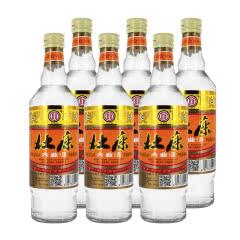 【洛阳杜康控股】52°杜康大曲浓香型白酒固态纯粮445ml*6瓶