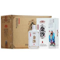 金沙酒 53度忠义仁勇礼盒装酱香型*4瓶整箱