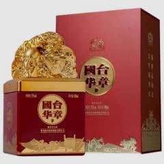 53º贵州国台酒 国台华章 酱香型白酒500ml礼盒装