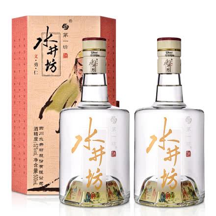 52°水井坊·(三國義勇仁)井臺簡裝版500ml(雙瓶裝)
