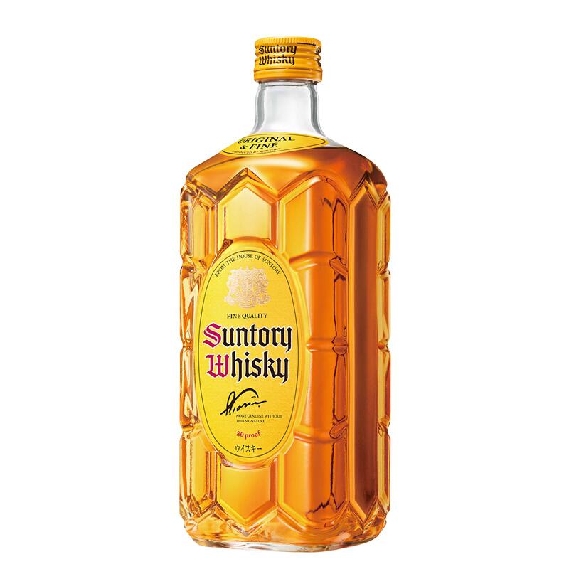 40°日本三得利威士忌[角瓶]  700ml