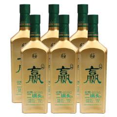 华都 北京二锅头43度 清香型 白酒 中赫国安一起赢二锅头 500ml*6瓶