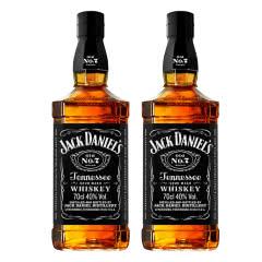 40°美国杰克丹尼田纳西州威士忌700ml*2瓶