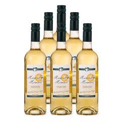 法国蜜乐麝香甜白葡萄酒750ml(6瓶装)