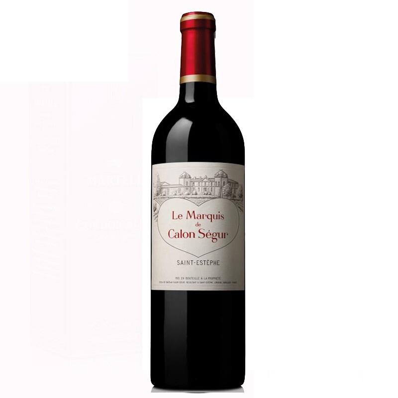 (列级庄·名庄·副牌)法国凯龙世家2017副牌红葡萄酒750ml