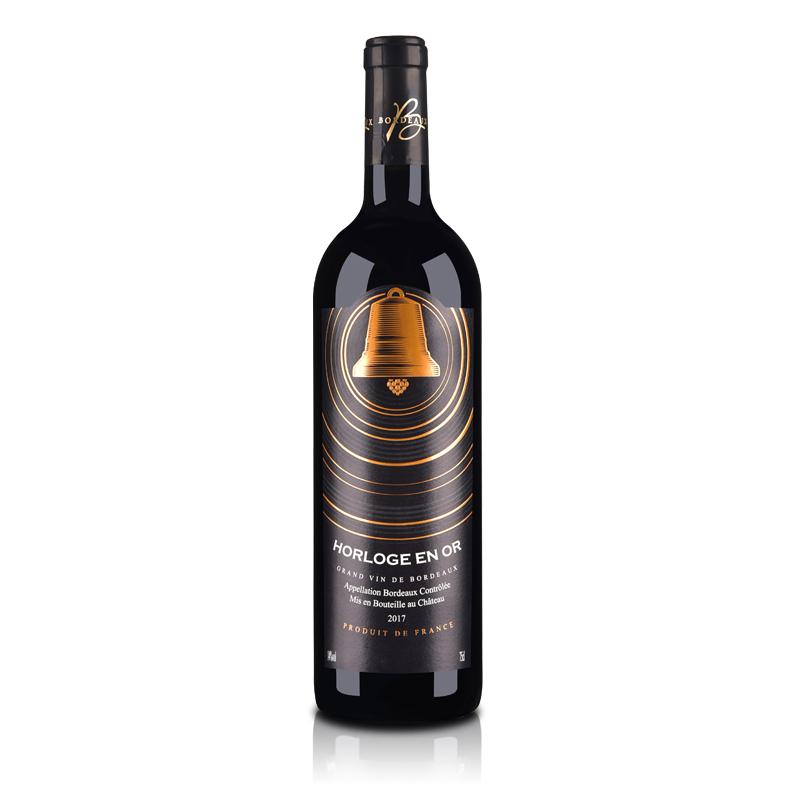 法国金钟干红葡萄酒750ml