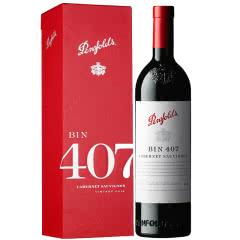 奔富407澳洲原瓶进口红酒(Penfolds)bin407红葡萄酒750ml