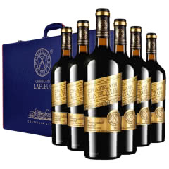 法国进口红酒拉斐大统领金标干红葡萄酒红酒整箱红酒礼盒装750ml*6