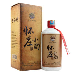 53°贵州怀庄小酌(珍藏)酱香型白酒送礼礼盒装500ml*1瓶
