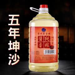 呇酱 贵州茅台镇 原浆酒 53度酱香型 白酒10斤 五年坤沙单桶5L装