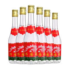 西凤酒45度凤香型陕西白酒 自饮 送礼 七两半375ml*6瓶