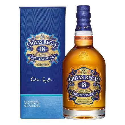 40°芝華士18年蘇格蘭威士忌700ml