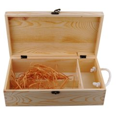 双支松木盒(送礼红酒盒)