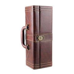 棕色单支皮盒