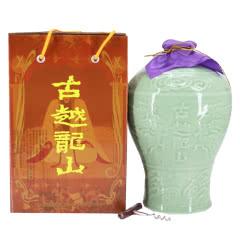 10°古越龙山青瓷雕王2500ml  半甜型绍兴黄酒