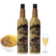 18°桂林特产桂花酒麻绳装特酿桂花蜜酒果露酒750ML(2瓶装)