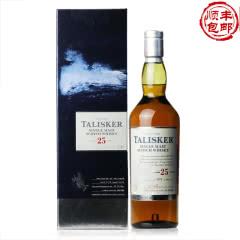 45.8°英国泰斯卡25年单一麦芽威士忌酒700ml