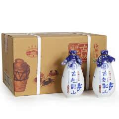 绍兴黄酒 古越龙山库藏八年陈花雕酒整箱500mlx6瓶
