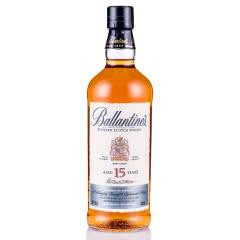 40°英国(Ballantine's)百龄坛15年苏格兰威士忌进口洋酒烈酒700ml