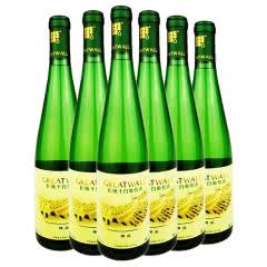 长城精品干白葡萄酒女士干白6瓶*650ml