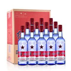 53°红星蓝瓶二锅头绵柔8陈酿整箱装750ml*12