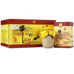52°牛栏山(niulanshan)北京二锅头百年陈酿三牛 浓香型白酒400ml(整箱装)