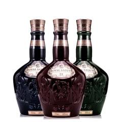 皇家礼炮(Royal Salute)洋酒 21年苏格兰威士忌 皇家礼炮21年 三色套装