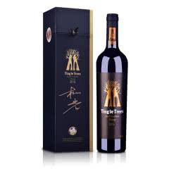 澳大利亚红酒丁戈树金标西拉干红葡萄酒750ml【九周年柳岩签名版】