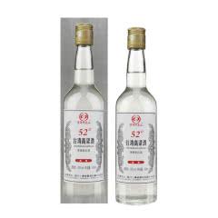 52°台湾高粱酒 清香型白酒 450ml(单瓶装)