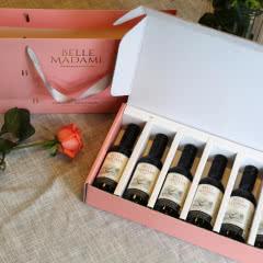 智利原瓶进口葡萄酒红酒干红进口红酒美丽女人小瓶装整箱187.5ml*6