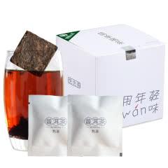 南国公主普洱熟茶薄片12袋*3g普洱茶叶免洗茶办公茶
