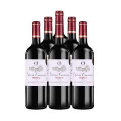 法国卡尔诺(中级庄)城堡干红葡萄酒750ml*6