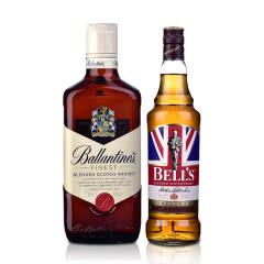 英国调配型苏格兰威士忌(百龄坛+金铃喜乐)组合
