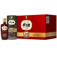 新疆特产伊力特 和谐 浓香型白酒46度250ml 铁筒包装 10瓶整箱