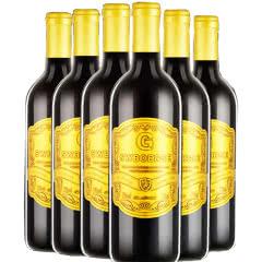 法国原酒进口波尔多侯爵波尔歌金樽干红葡萄酒整箱装 送开瓶器 750ml*6瓶
