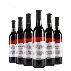 中国长城红版干红葡萄酒酒750ml(6瓶装)