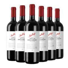 澳洲原瓶进口红酒纳谷奔富庄园bin128干红葡萄酒红酒整箱750ml*6