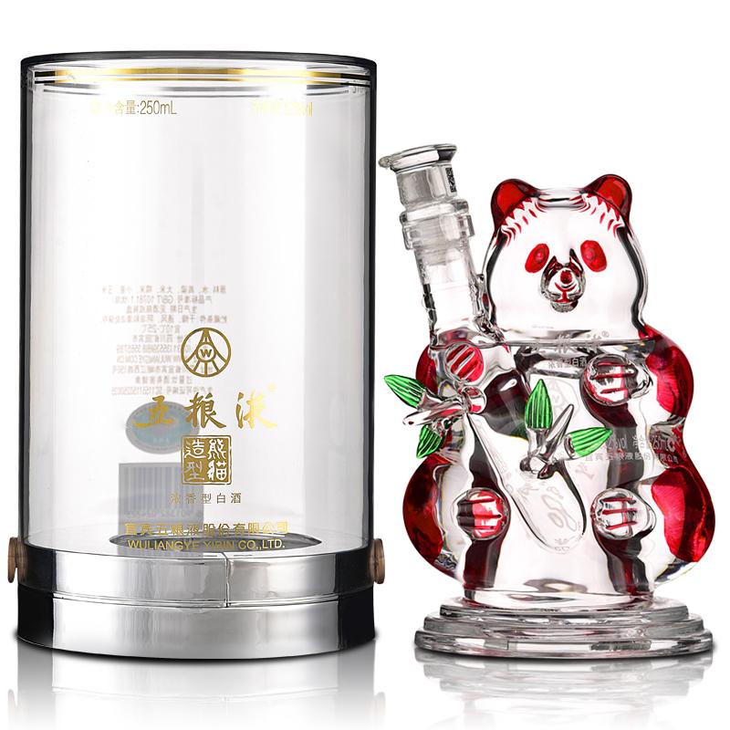 52°五粮液精品熊猫酒250ml