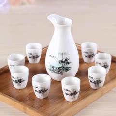 白酒酒具九件套礼盒装