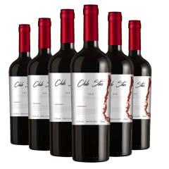 智利进口红酒单一品种佳美娜干红葡萄酒整箱750mlX6