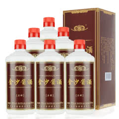 贵州金沙酱酒 原酿53度500mL*6瓶酱香型白酒高度酒水纯粮食酒整箱